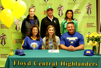 Taylor Hodges signs with Morehead State, 11.9.16
