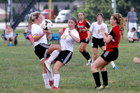 Girls' Soccer – New Albany at Corydon Central, 8.31.16