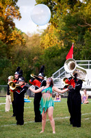 Crawford County Marching Wolfpack at Salem Invitational - 9.10.16