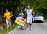 Indiana Bicentennial Torch Relay through Crawford County - 9.09.16